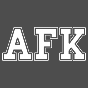afk t-shirt to personalize yourself.