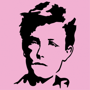Arthur Rimbaud gift or t-shirt to create yourself.