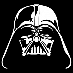 Darth Vader helmet, nerd t-shirt to customize and print with Spreadshirt.