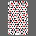 Poker design with customizable playing card symbols. Customized phone case.