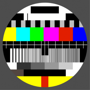 Round test pattern to print on a t-shirt or accessory online. Spreadshirt shop.