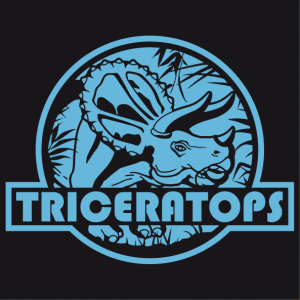 Customize your triceratops t-shirt online in the Spreadshirt designer.
