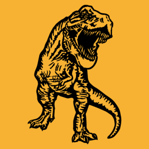 Tyrannosaurus rex t-shirt to customize yourself.