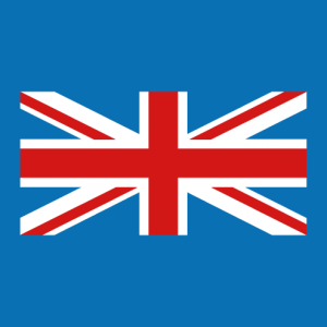 Partial Union Jack, print your custom English flag t-shirt online. A UK design and vector flags.
